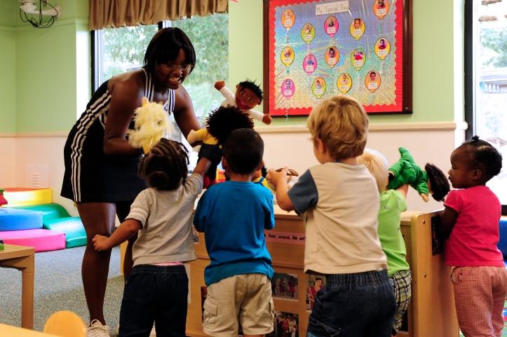 Childcare Development Center/Crestwood High School cheerleaders